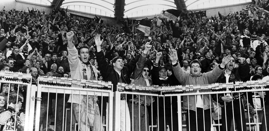 98/99: Auswärts in Leverkusen